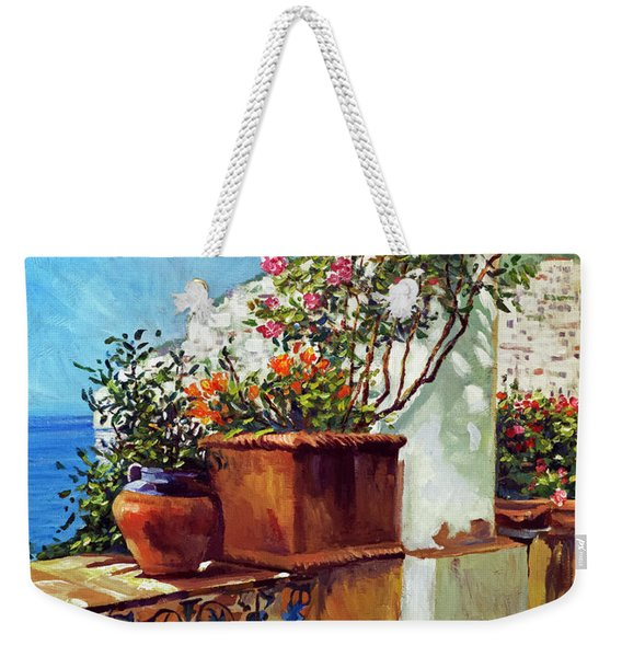 Amalfi Coast Impressions Weekender Tote Bag