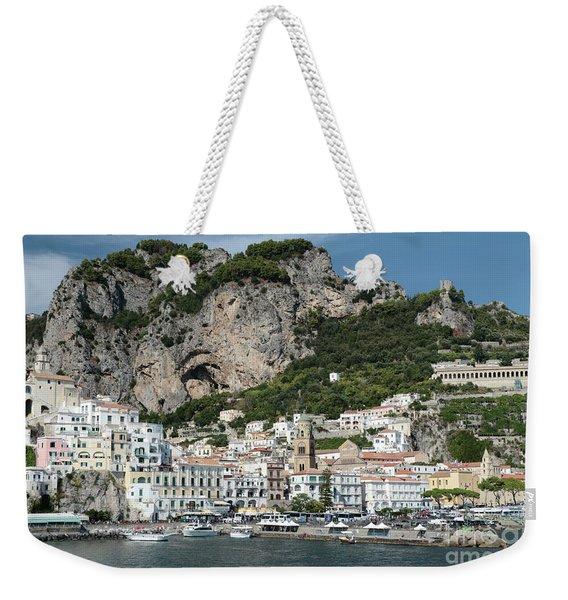 Amalfi Port Weekender Tote Bag