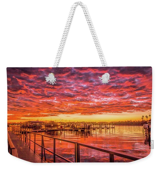 Amazing Sunrise Weekender Tote Bag