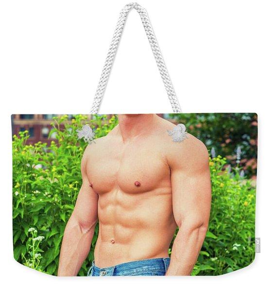 American City Boy.  Weekender Tote Bag
