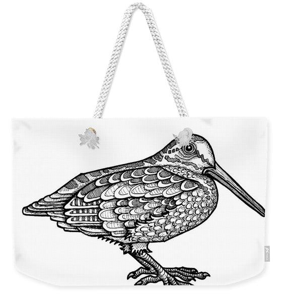 American Woodcock Weekender Tote Bag