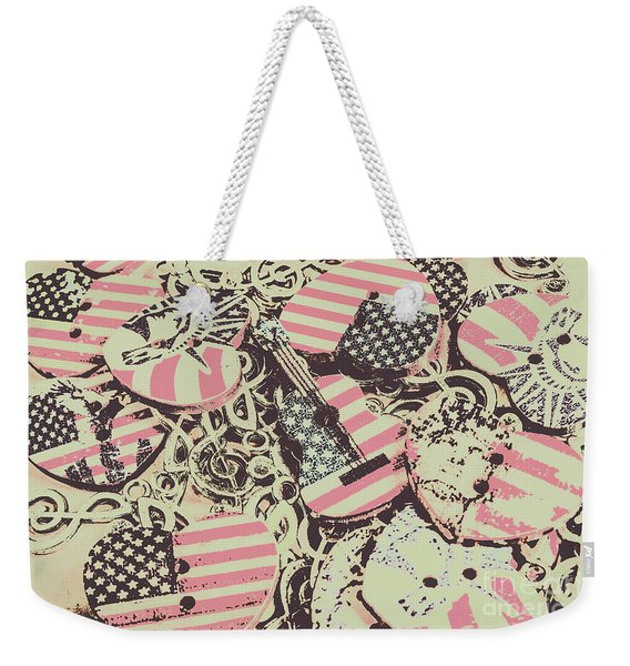 Americana Audio Weekender Tote Bag