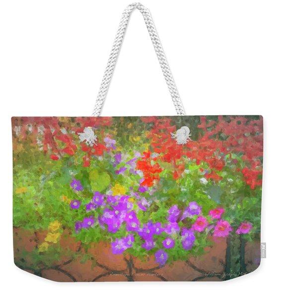 Americana Flower Planters Weekender Tote Bag
