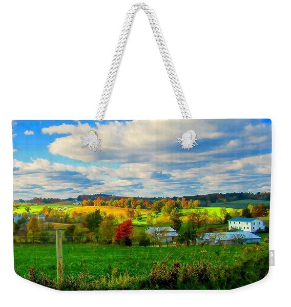 Amish Farm Beauty Weekender Tote Bag
