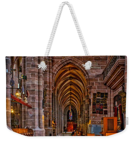 Amped Up Arches Weekender Tote Bag