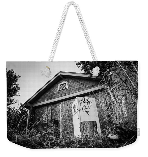 An Abandoned Home With A Personality  Weekender Tote Bag
