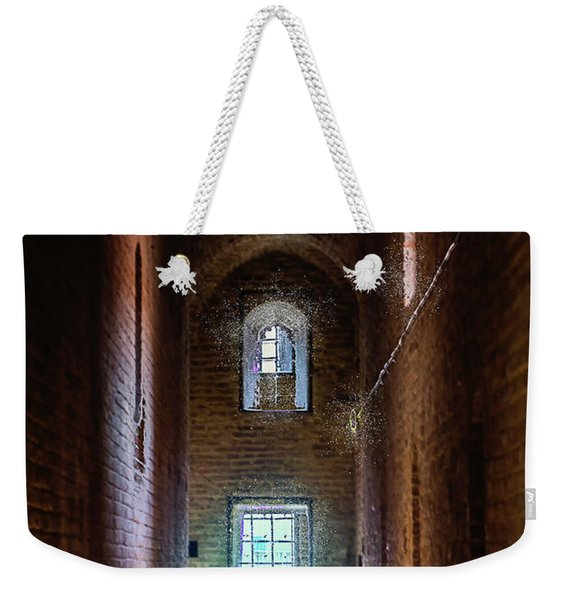 An Entrance To The Casemates Of The Medieval Castle Weekender Tote Bag