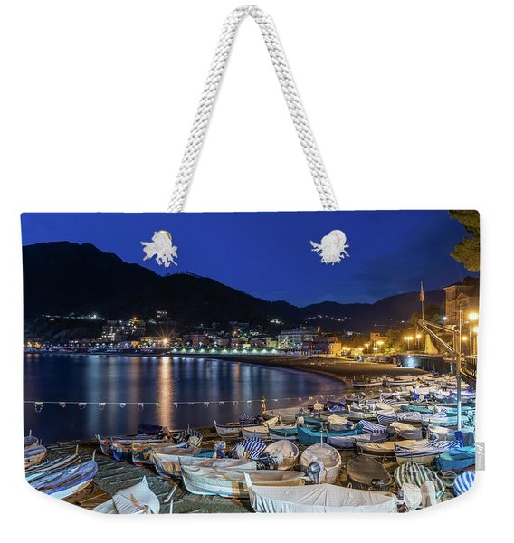 An Evening In Levanto Weekender Tote Bag
