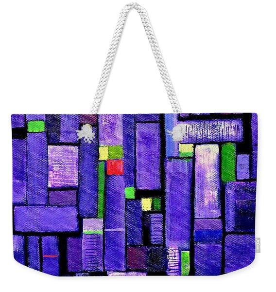 An Iris For The Master Weekender Tote Bag