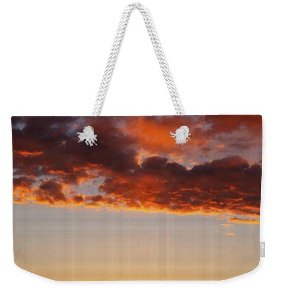 An Oklahoma Sunsrise Weekender Tote Bag