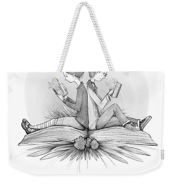 An Open Book Weekender Tote Bag