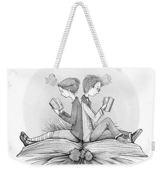 An Open Book Weekender Tote Bag