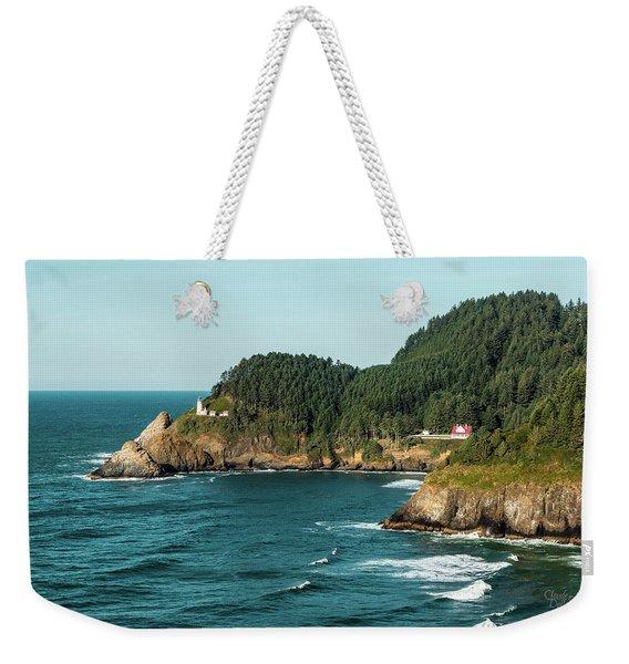 An Oregon Lighthouse Weekender Tote Bag