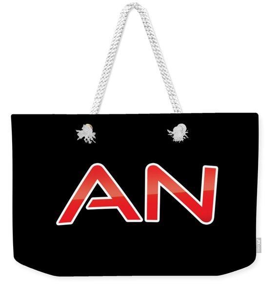An Weekender Tote Bag