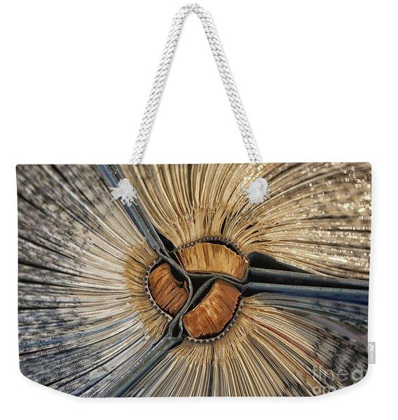 An Unsteady Rhythm Weekender Tote Bag