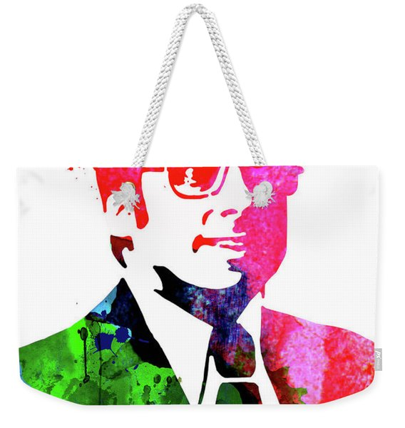 Anchorman Watercolor Weekender Tote Bag