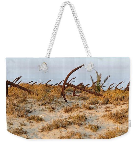 Anchors In Barril Beach Weekender Tote Bag