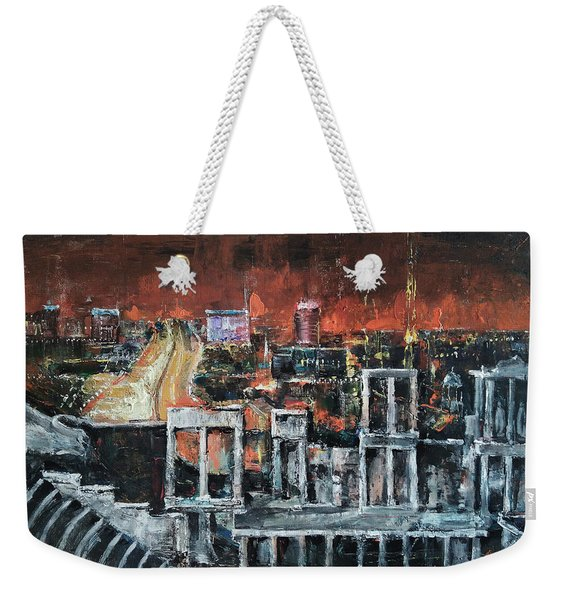 Ancient And Eternal Weekender Tote Bag