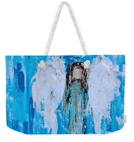 Angel Among Angels Weekender Tote Bag