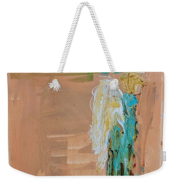 Angel Boy In Time Out  Weekender Tote Bag