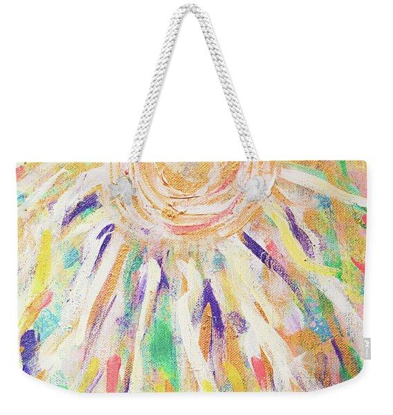 Angel In The Garden Weekender Tote Bag
