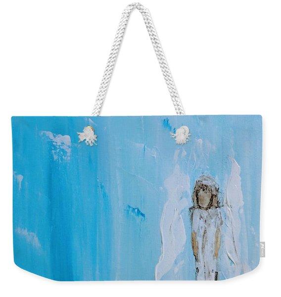 Angel Of Simplicity Weekender Tote Bag