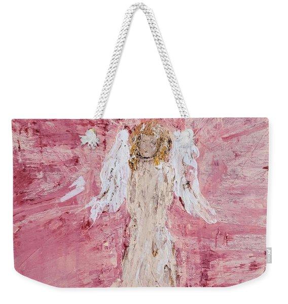 Angel Was Lost But Now Is Found  Weekender Tote Bag