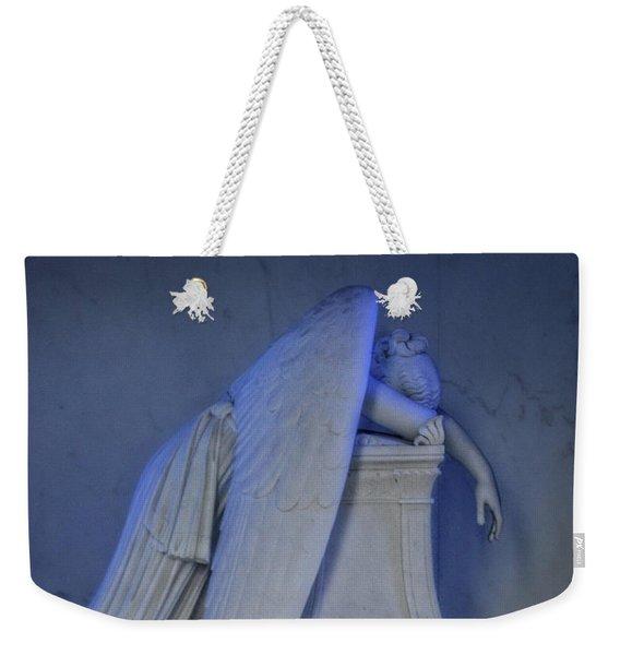 Angel Weeping Weekender Tote Bag