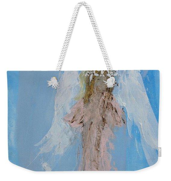 Angel With A Crown Of Daisies Weekender Tote Bag