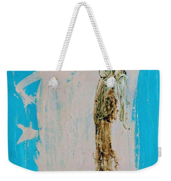 Angel With His Dog Wings Weekender Tote Bag