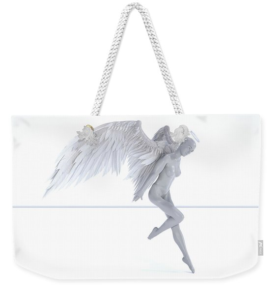 Angelic Touch Weekender Tote Bag