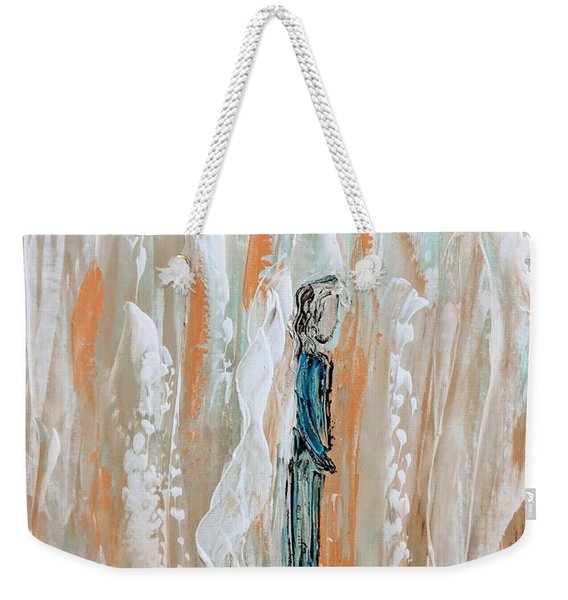 Angels In The Midst Of Every Day Life Weekender Tote Bag