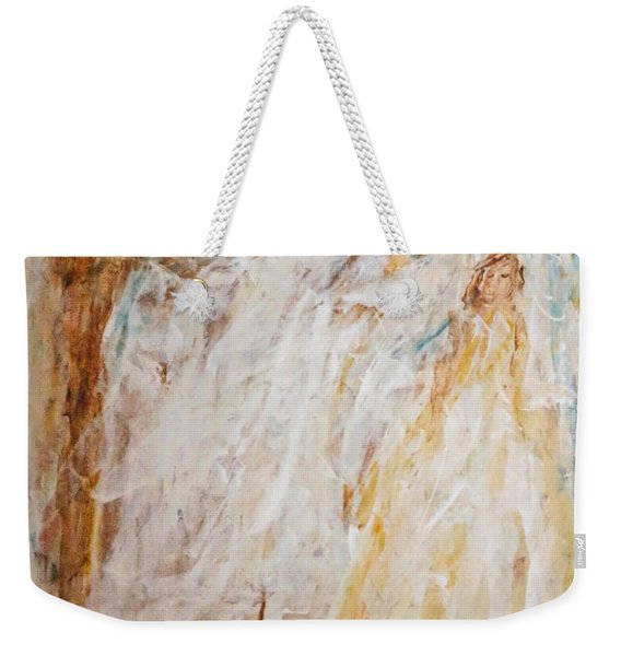 Angels Of Peace Weekender Tote Bag