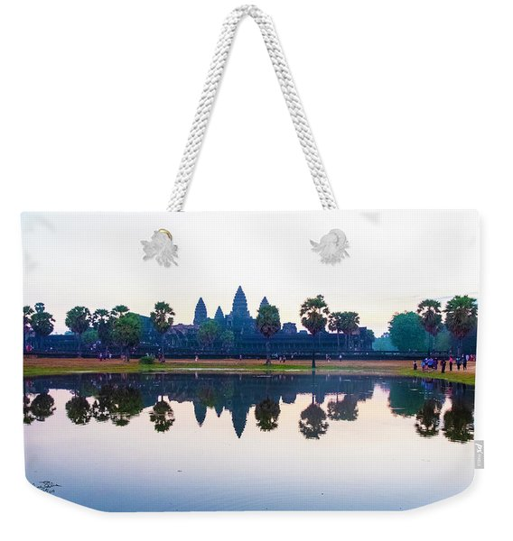 Angkor Wat Reflections Weekender Tote Bag