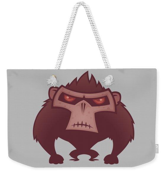 Angry Ape Weekender Tote Bag