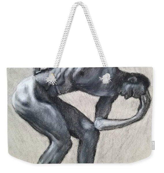 Anguish Weekender Tote Bag