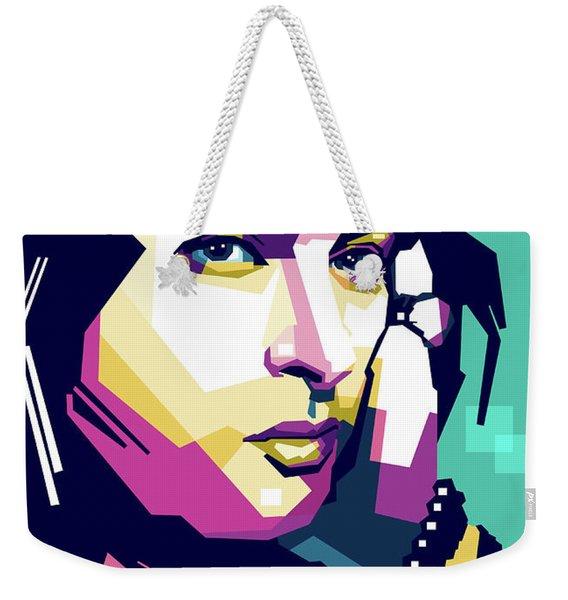 Anna Magnani Weekender Tote Bag