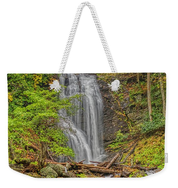 Anna Ruby Falls Left Weekender Tote Bag