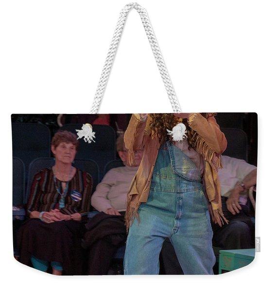 Annie Got Her Gun Weekender Tote Bag