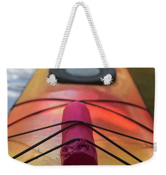 Another Bottle On A Boat Weekender Tote Bag