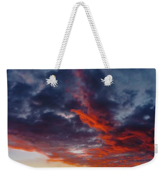 Another Colorful Sky Weekender Tote Bag