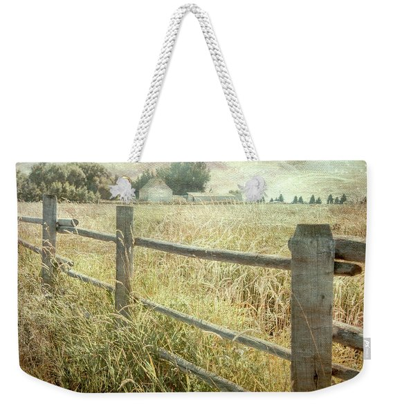 Another Fence Weekender Tote Bag