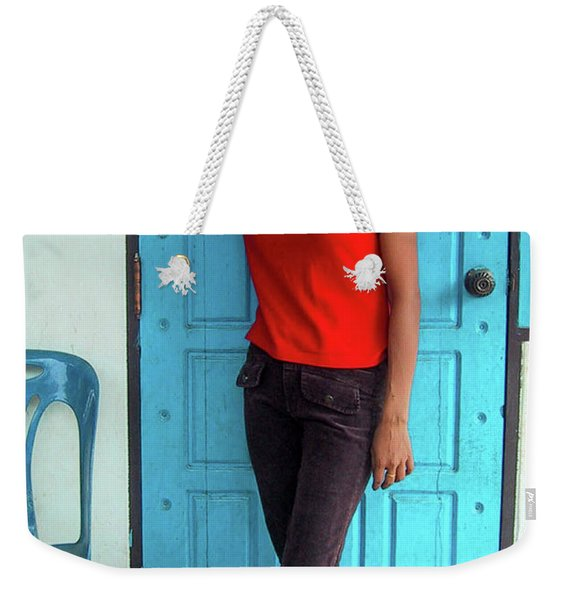 Another Lovely Smile Weekender Tote Bag