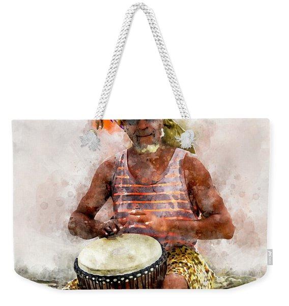 Antiguan Drummer Weekender Tote Bag