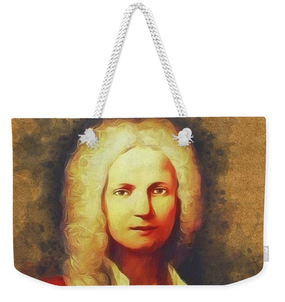 Antonio Vivaldi, Music Legend Weekender Tote Bag