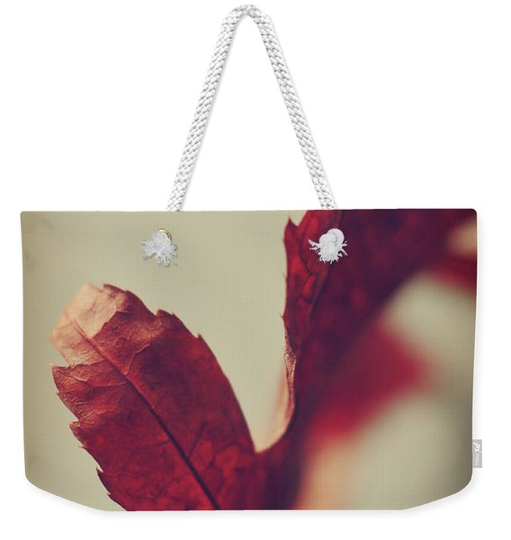 Weekender Tote Bag featuring the photograph Anxious Nights by Michelle Wermuth