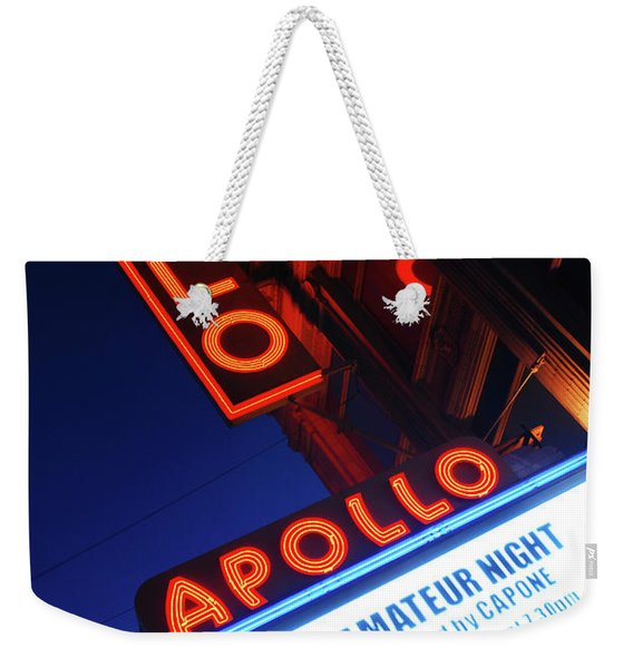 Apollo Theater Amateur Night Weekender Tote Bag