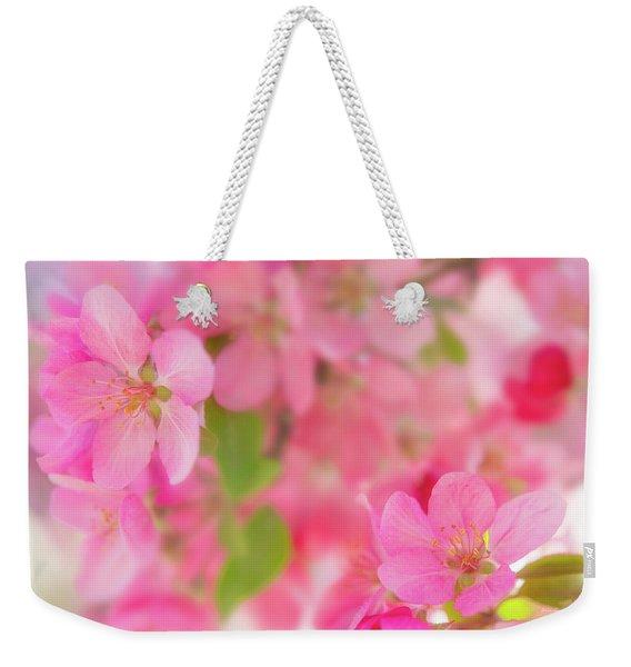 Apple Blossom 4 Weekender Tote Bag
