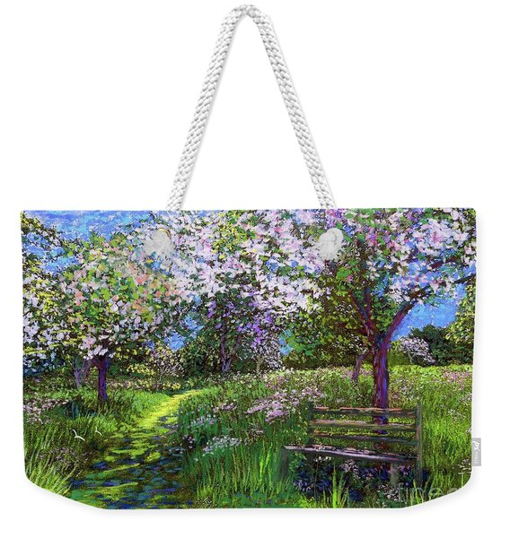 Apple Blossom Trees Weekender Tote Bag
