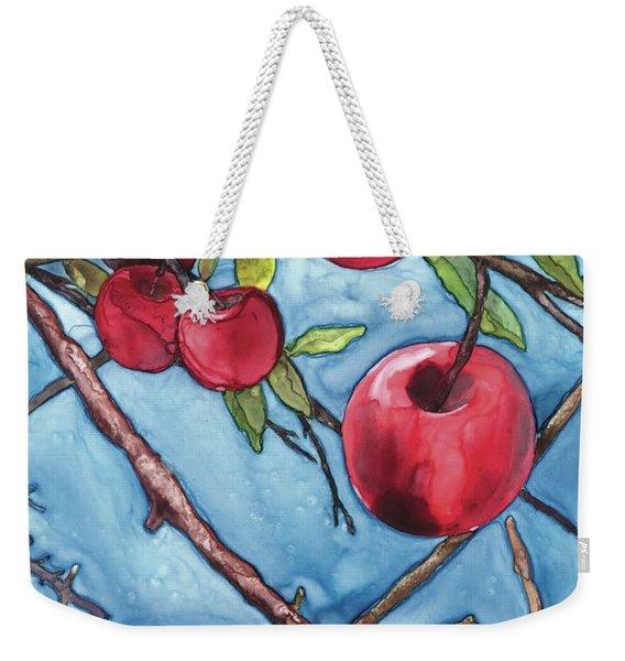 Apple Harvest Weekender Tote Bag